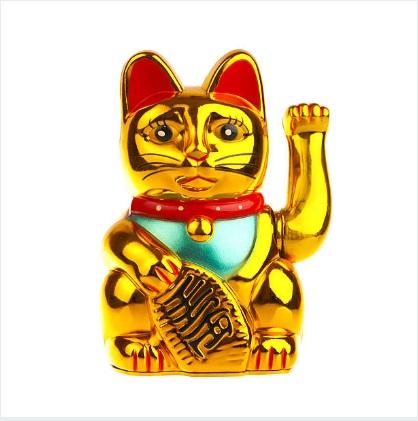 Maneki Neko el gatito que mueve la manov